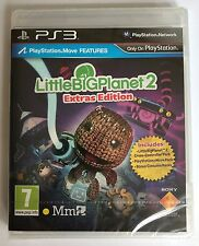 PS3 Little Big Planet 2: Extras Edition, UK Pal Export, New & Factory Sealed
