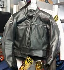 Woman's VANSON Center Perf Leather Motorcycle Jacket Size 8 Made in USA NWT