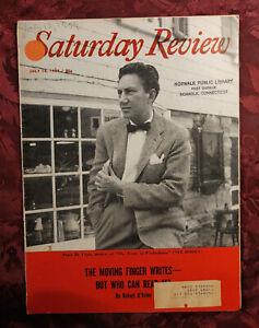 Saturday Review July 18 1959 PETER DE VRIES Robert O'Brien Malcolm Bradbury