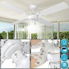 50 Watt Decken Ventilator Lüfter Zugschalter Schlaf Zimmer Beleuchtung Kühler