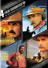 4 Film TV Western Collection Tom Selleck Conagher Last Stand Monte Walsh DVD