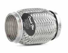 """2/"""" x 9/"""" échappement flexi tuyau flex joint 230mm x 50mm flexipipe tube chat réparation"""