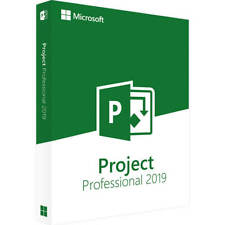 Microsoft Project 2019 Pro Professional | Vollversion | Key | Endnutzer Version