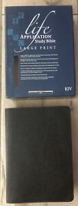 Life Application Study Bible King James Version (KJV) Bonded Leather Large Print