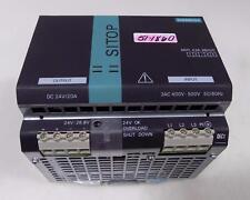 SIEMENS 24V 20A POWER SUPPLY 6EP1-436-3BA00