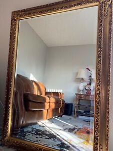 J. A. Olson 1973 Gold Vintage Mirror