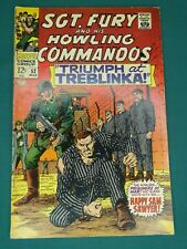 MARVEL COMICS GROUP SGT. FURY AND HIS HOWLING COMMANDOS #52 3/1968 NICE COPY