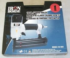 New Iron Horse 2 in. 18-Gauge Brad Nailer with Case Ih-Bn2 Gun Power Tool