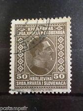 YOUGOSLAVIE 1926-27, timbre 171, ALEXANDRE I°, oblitéré, VF used stamp