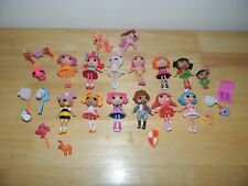 LaLaLoopsy Mini Lot doll figures, Pets, Accessories & More! Cute!