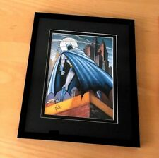 Batman and Me. Bob Kane,  Lithograph,  framed Limited Edition 2500 W.B.  C.O.A