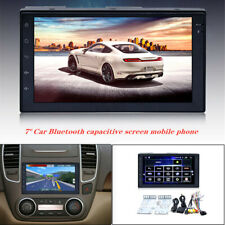 """7"""" Android Car Bluetooth capacitive screen mobile phone w/ reversing MP5 player"""