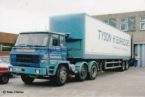 COL PHOTO: TYSON H. BURRIDGE DODGE ARTIC BOX VAN TRAILER - DRM 168T