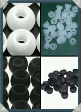 8 pcs =4 Pairs Soft Silicone Earphone buds Headphone caps Headset Ear Tips Pads