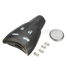 4 Buttons Remote Key Fob Case Battery Repair Kit For SAAB 93 95 9-3 9-5 Tid Aero