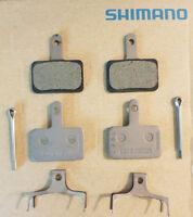 SHIMANO 4 PASTIGLIE FRENO RESINA B01S DEORE BR-T615 ORIGINALI