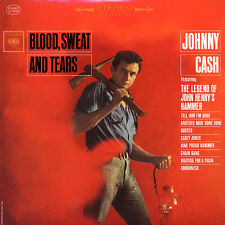 "JOHNNY CASH ""BLOOD, SWEAT AND TEARS"" QUALITY USED LP (VG+/EX)"