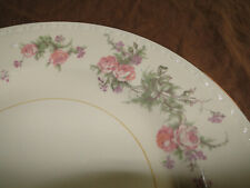 Assorted Homer Laughlin Eggshell Georgian Pink Rose Pattern Dinnerware Pieces