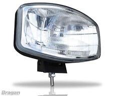 """12v 9.5 """" Jumbo Ovale Noir ABS Lampe Spot + LED 4x4 Pickup Utilitaire"""