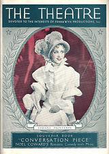 "Yvonne Printemps ""CONVERSATION PIECE"" Pierre Fresnay / Noel Coward 1934 Program"
