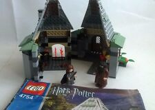 LEGO HARRY POTTER 4754 Hadgrids Hut HERMIONE Time Turner Instructions 2nd Editio