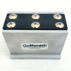 Golfsmith Precision Clubmaking Aluminum Shaft Vise Clamp