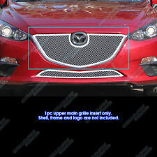 Fits 2014-2016 Mazda 3 Stainless Steel Mesh Grille Insert