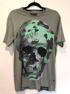 Philipp Plein T Shirt Men L Metal Tag