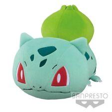 Banpresto Pocket Monster Pokemon Sun & Moon Big Round Plush Bulbasaur Soft Doll