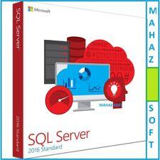 Microsoft SQL Server 2016 Standard Retail Genuine License Key & Permanent CORES