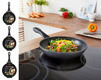 20/24/28cm Non-Stick Marble Stone Coating Induction Frying Cooking Pan