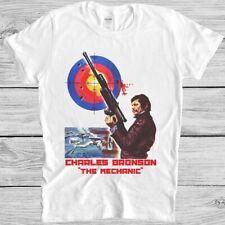 The Mechanic T Shirt Film Poster Charles Bronson Death Wish Cool Gift Tee M255