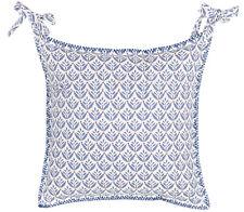 Stuhlkissen Kissen Bezug blau maritim , Blanc Mariclo Toskana