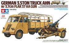 1/35 Tamiya German 3.5ton Truck AHN - w/3.7cm Flak 37 AA Gun #32410