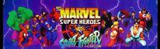 Marvel Super Heroes vs Street Fighter Arcade Marquee – 26″ x 8″