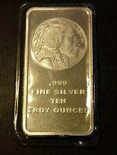 10 Gram Silver Towne Buffalo Bar