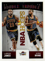 LeBron James Kyrie Irving 2015-16 NBA Hoops Double Trouble #2! Cavaliers!