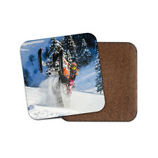 Snow Mobile Stunt Riding Coaster - Winter Adrenaline Snowboarding Gift #16051