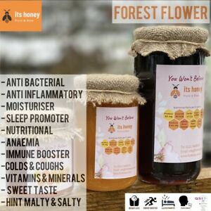 Honey Forest Flower Raw & Pure 1KG Immune Booster Hay Fever Coughs colds