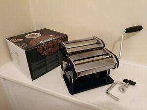 Pasta Maker Machine, Homemade Stainless Steel Manual Roller Pasta Maker