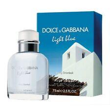 75ml Dolce & Gabbana Light Blue Living Stromboli Eau de toilette for Men 2.5 oz