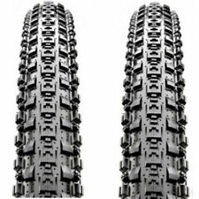 "1 PAIR Maxxis Crossmark MTB Tyres 26 x 2.25""Black Mountain Bike Tire 65PSI New"