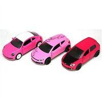 Scale 1:55 Vw Pink Limited Edition 3 Car Set - Siku 621300602 Gift 155