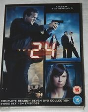 24 - Complete Season 7 DVD NEW & Sealed 6-Disc Collector's Set Kiefer Sutherland
