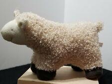 "Adorable Plush Sheep Wooly Lamb Decoration 7"" X 12"" Super Soft"