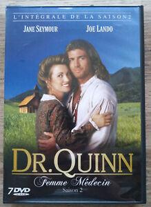 Coffret DVD Dr Quinn Femme Médecin Intégrale de la Saison 2