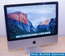 "Apple iMac 20"" - 2.4GHz Intel Core 2 Duo  2GB Ram  250GB HD  El Capitan  2008"