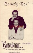 Die Barcelona Hotel präsentiert Lou Marsh & Tony Adams im Comedy Box Nightclub