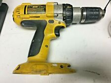 DEWALT HAMMER DRILL XRP 18 VOLT DW987 CORDLESS no battery works great