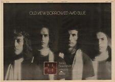 Slade Old New Borrowed & Blue UK Poster 1974